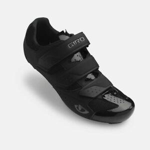 Giro Techne Road Cycling Shoes - 3 bolt / 2 bolt Compatible - Black