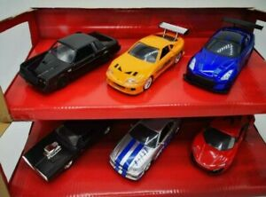 Fast and Furious Diecast Cars Buick, Nissan, Toyota, Lykan, Dodge Jada Toys 1:32