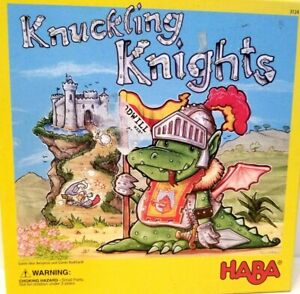 Knuckling Knights Game from HABA COMPLETE!