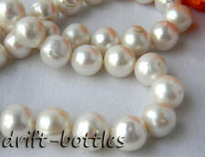 AA 20'' 13MM Round White Freshwater Pearl Necklace