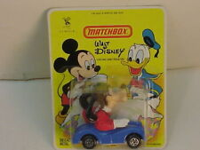 1979 HK MATCHBOX DIE-CAST WALT DISNEY GOOFY IN CAR MOC