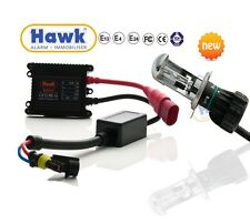 Xenon HID Motorcycle Headlight Conversation Full HI/LO H4 Bulb Kit - 6000k