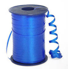 Royal Blue Crimped Curling Ribbon 500yd Spool 4 Favors