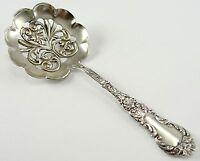 """Antique Sterling Silver Codding Bros & Heibron Bon Bon Spoon Scalloped 4.5"""""""