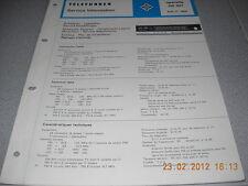 TELEFUNKEN Receiver Operette hifi 301 Service Manual