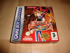 YU-GI-OH! RESHEF EL DESTRUCTOR DE KONAMI NINTENDO GAME BOY ADVANCE GBA NUEVO