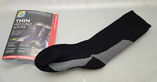 Sealskinz Thin Mid Calf socks S Shoe Size 3-5 UK Breathable water + windproof