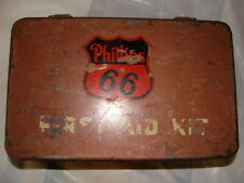 Vintage Phillips 66 First aid kit, original, circa 1948