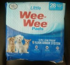 """Four Paws Little Wee Wee Pads 28 Count 16.5"""" x 23.5"""" 5 PLY"""