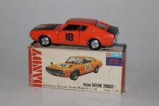 TOMY TOMICA DANDY #018 NISSAN SKYLINE 2000 GT-R, ORANGE, EXCELLENT, BOXED