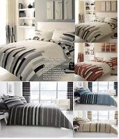 Luxury Blocks Duvet set Striped Duvet Cover Set Quilt Cover Set Bed Set Bedding