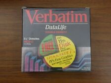 Verbatim MD2-D Double Sided Double Density 48 TPI 5 1/4 inch Mini-Floppy Disk