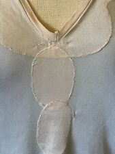 "TRUE VINTAGE 1920s/30s Silky Top - 16.5"" armpit to armpit approx."
