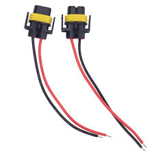 2pcs H11 HID Female Adapter Wiring Harness Sockets Wire For Headlights/Fog Light