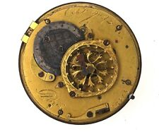 BREGUET A PARIS VERGE FUSEE POCKET WATCH MOVEMENT SPARES OR REPAIRS VV40