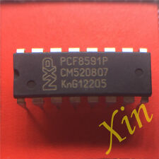 5PCS PCF8591P PHILIPS DIP-16 IC 8-bit A/D and D/A converter NEW GOOD QUALITY