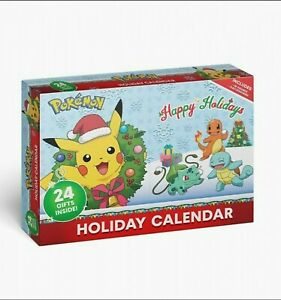 NEW SEALED Pokemon Holiday / Advent Calendar 24 Gifts Inside