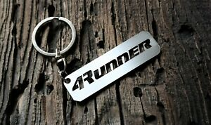 Keychain for Toyota 4Runner keyring Sport fob tag Metal Unofficial Fan art