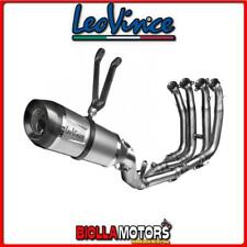 8483S SCARICO COMPLETO LEOVINCE YAMAHA YZF 600 R6 2006-2016 FACTORY S INOX/CARBO