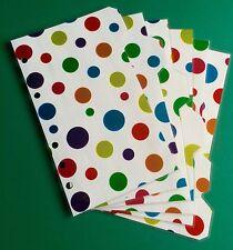 Filofax Personal Planner-diversi colori FOIL avvistato divisori-Laminato