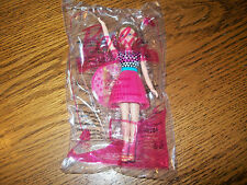 McDonald's Barbie Fashionista Barbie in Power Print Outfit Happy Meal Toy NIP #1
