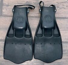 Vintage Scuba Pro Jet Fins Flipper Diving Snorkeling Size Large Made In Usa