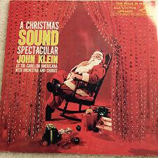 """A Christmas Sound Spectacular John Klein at Carillon Americana LPM 2023 MONO 12"""""""