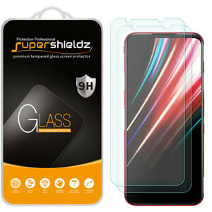 [2-Pack] Supershieldz Tempered Glass Screen Protector for ZTE Nubia Red Magic 5G