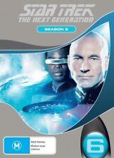 STAR TREK THE NEXT GENERATION: SEASON 6 = TV Series = NEW DVD R4