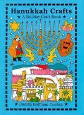 Hanukkah Crafts (Holiday Crafts)-ExLibrary