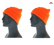 Beanie Cap Hunting Blaze Orange ~ New