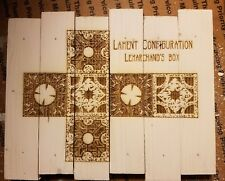 The Lament configuration hellraiser puzzle box custom wood sign poster