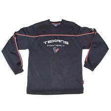 HOUSTON TEXANS FOOTBALL NFL Jersey Men's Embroidered Sweatshirt size Large - 067