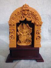 "Hindu Goddess Durga Marble Statue 7"" Goddess Maha Kali Sculpture Figurine Gift"