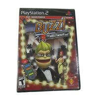 Buzz ! The Hollywood Quiz (Sony PlayStation 2 PS2) NEW SEALED