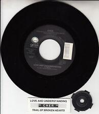 "CHER  Love And Understanding 7"" 45 rpm vinyl record + jukebox title strip NEW"