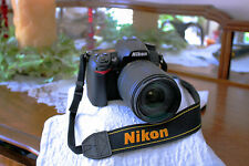 Nikon D7000 WITH NIKON 18-140 AF-S DX F/3.5-5.6  G ED VR EXCELLENT