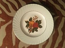 "Vintage Enoch Wedgwood English Harvest Fine China 7"" Salad Desert Plate NICE!"
