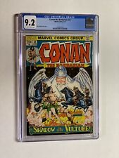 Conan the Barbarian 22 cgc 9.2 ow/w pages marvel bronze age