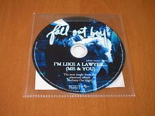 FALL OUT BOY - I'M LIKE A LAWYER ... ( ME & YOU ) - CD SINGLE AUSTRALIA PROMO