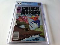 CHUCK NORRIS 3 CGC 9.6 WHITE PAGES NEWSSTAND UPC STEVE DITKO MARVEL COMICS