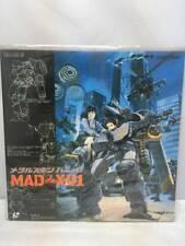 REAR!! Metal Skin Panic MADOX-01 Shinji Aramaki / USED JAPAN ANIME LD with OBI