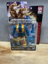 Transformers Generations Power of the Primes Deluxe Terrorcon Sinnertwin-NEW