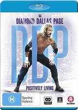 WWE: Diamond Dallas Page: Positively Living - Sports NEW B Region Blu Ray