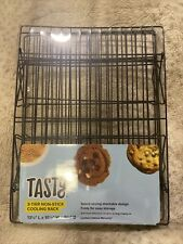 NWT Tasty 3 Tier Stacking Non Stick Cooling Rack Baking Cooking