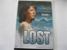 LOST- SERIES 1 Vol 6 -  Epis 21 to 24  (L74) {DVD}
