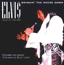 RARE CD IMPORT ELVIS PRESLEY- BRINGING THE HOUSE DOWN - CHICAGO OCTOBRE 1976