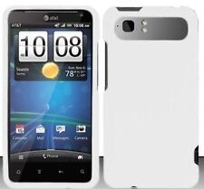 Silicone Skin Case for HTC Vivid - White