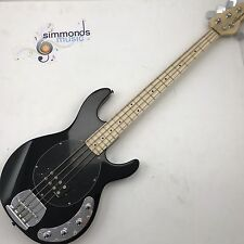 VINTAGE riemettere v964 attivo ELECTRIC BASS GUITAR in nero - 4 STRING BASS