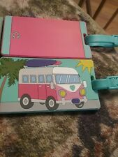 "C Wonder Limited Travel LuggagesTags 2 Tags Accessories""VINTAGE VW VAN"" & Plain"